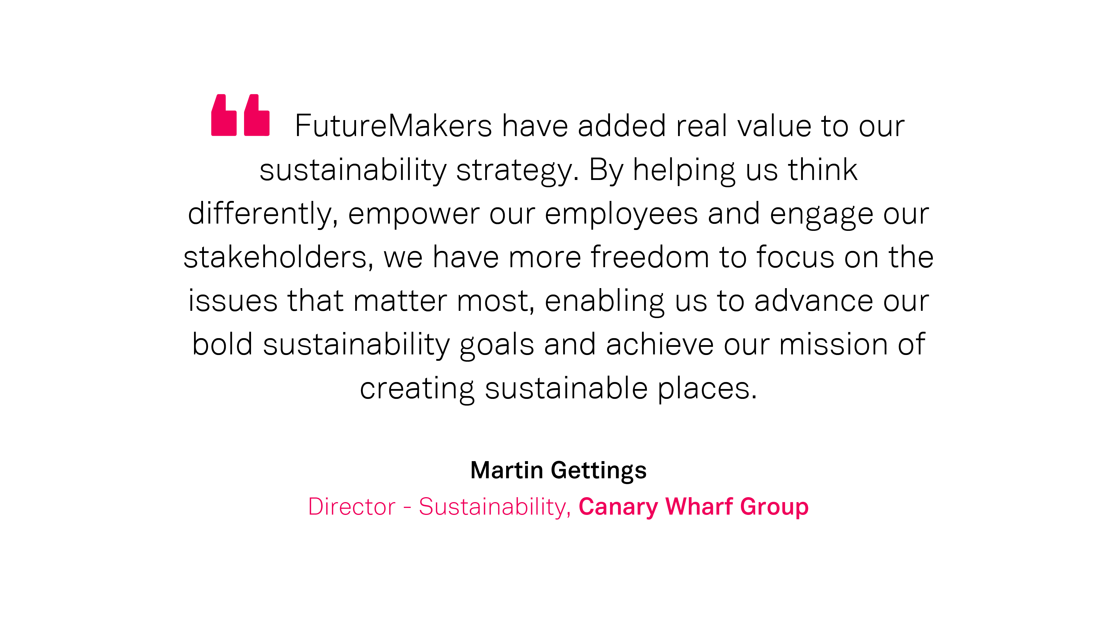 Our Work: Martin Gettings, CWG